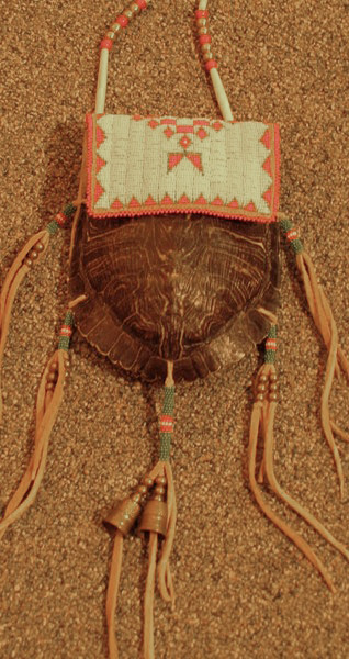 Beaded Turtle Bag