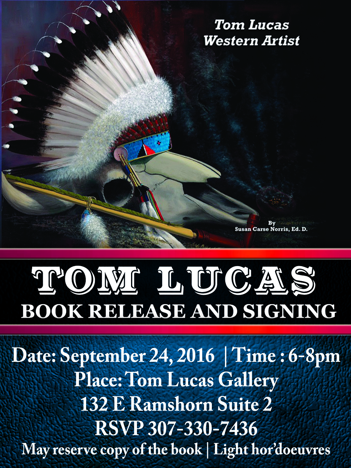 Tom Book Signing
