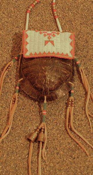 Beaded Turtle Bag